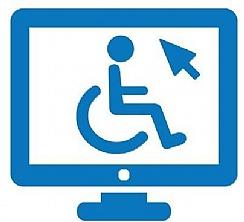 אייקון נגישות אתרי אינטרנט לבעלי מוגבלויות